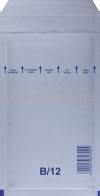 Légpárnás Boríték, Légpárnás Tasak, Buborékos boríték, buborékos tasak  B/12-es fehér